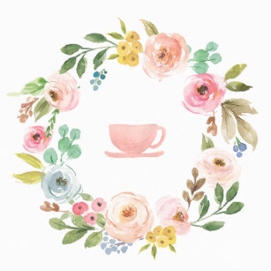 Bridal tea clipart png freeuse Pastel Colors Baby Shower Gifts & Gift Ideas | Zazzle UK png freeuse