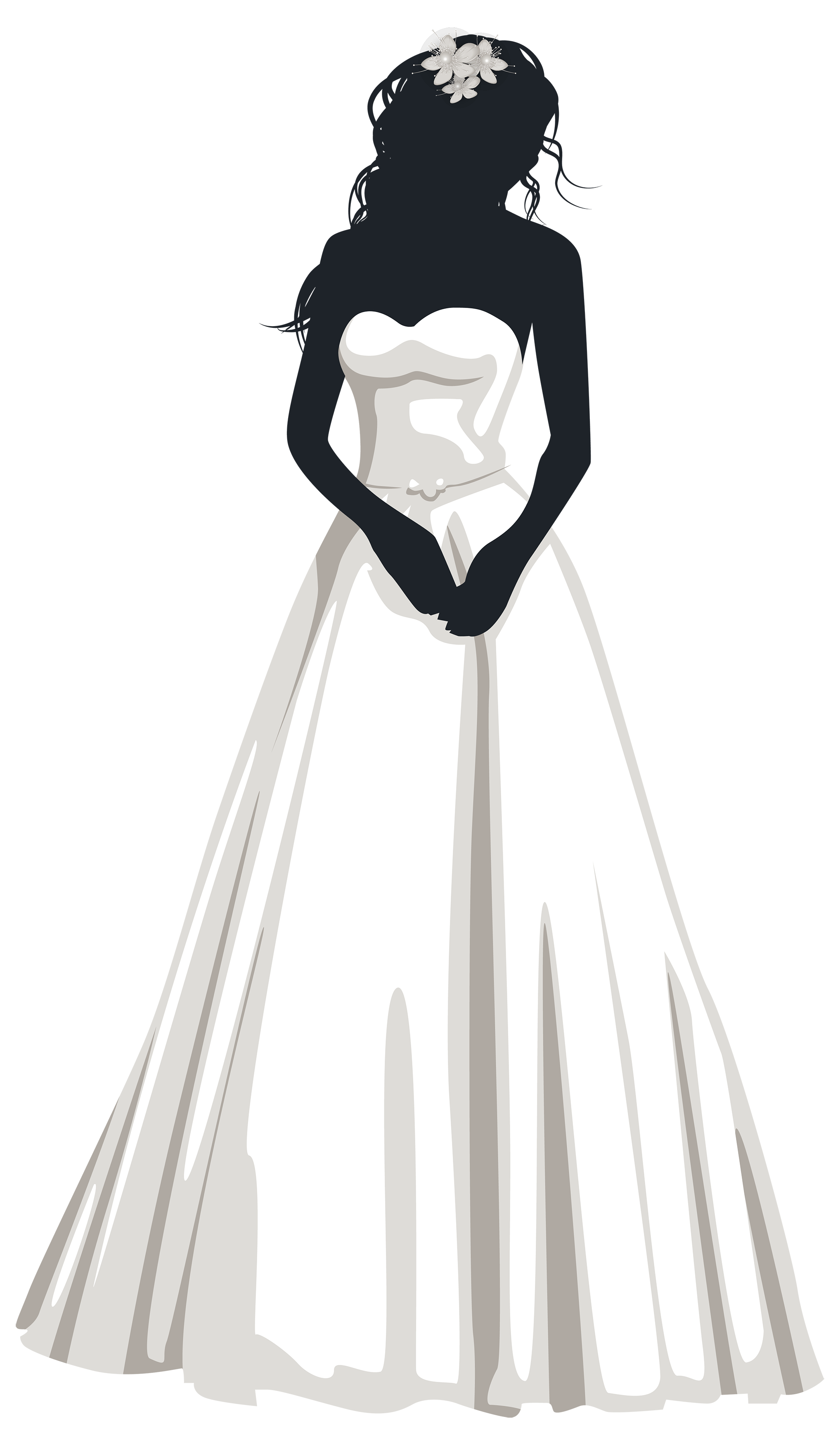 Bride and flower girl clipart picture Bride Silhouette PNG Clip Art | Weddings | Pinterest | Clip art ... picture