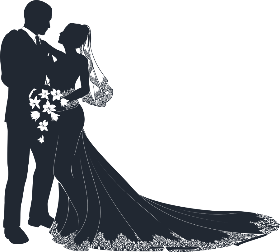 Bride and flower girl clipart clip art mother and child silhouette clip art free - Google Search | Pics ... clip art