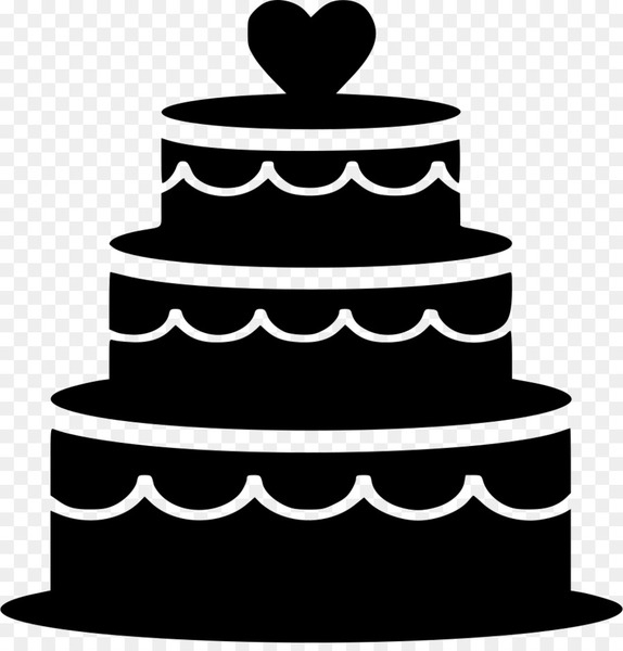 Bride and groom cake clipart black and white image royalty free Frosting & Icing Wedding cake topper Bridegroom - wedding cake - Nohat image royalty free