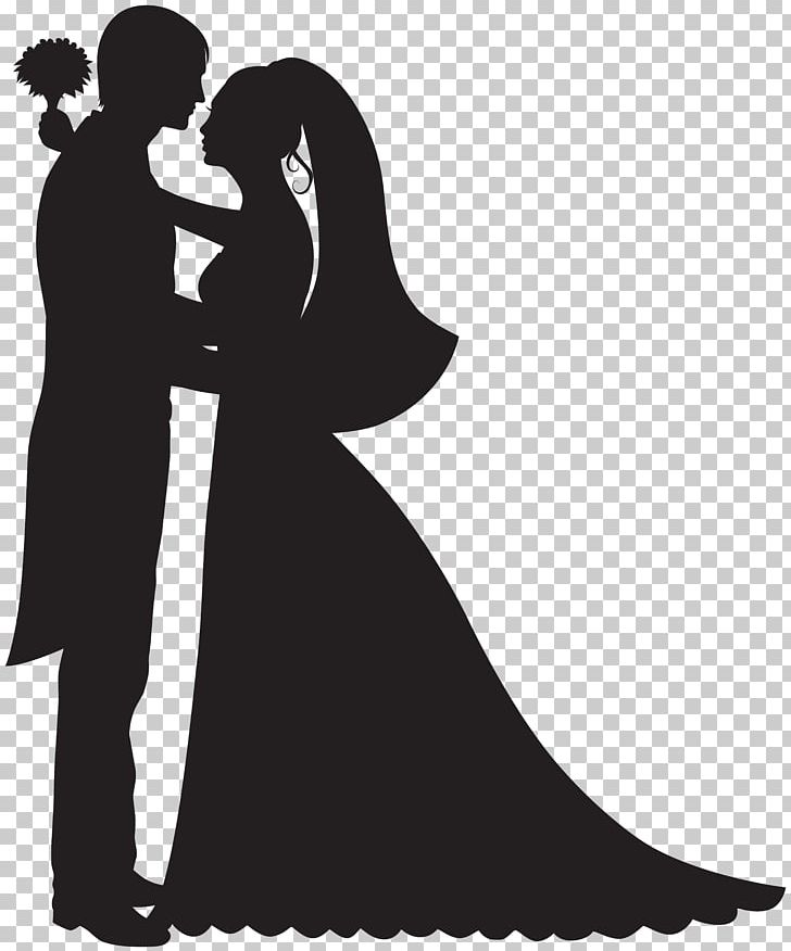 Bride and groom cake clipart black and white clipart freeuse library Bridegroom Wedding Cake Topper PNG, Clipart, Black And White, Bride ... clipart freeuse library