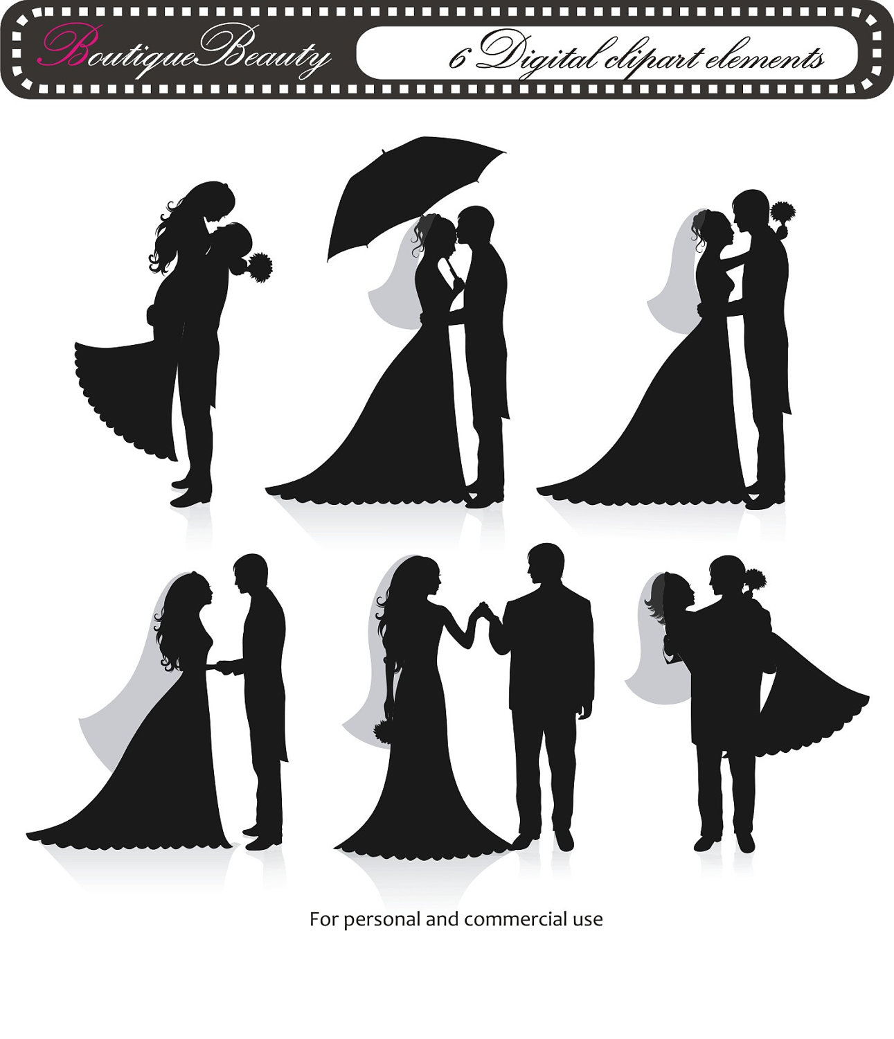 Bride and groom clipart blush & mint clipart clip art library library Wedding Cliparts Background - Cliparts Zone clip art library library
