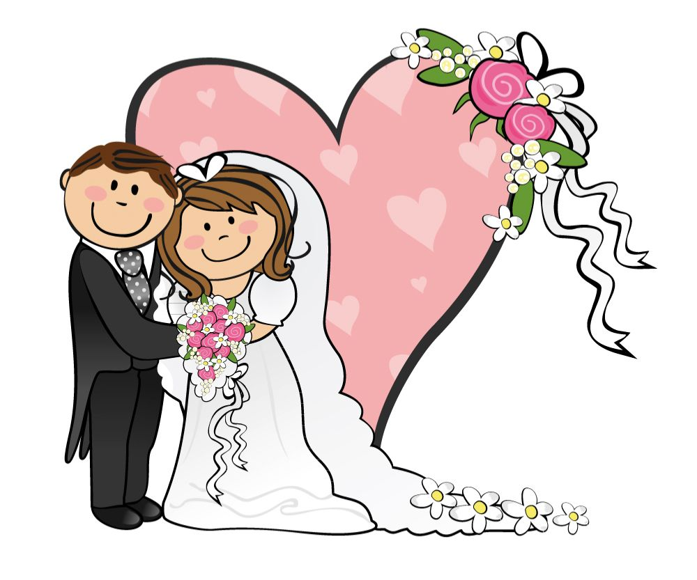 Bride and groom images clipart jpg free download Cartoon Funny Bride And Groom - ClipArt Best | weddings cartoon ... jpg free download