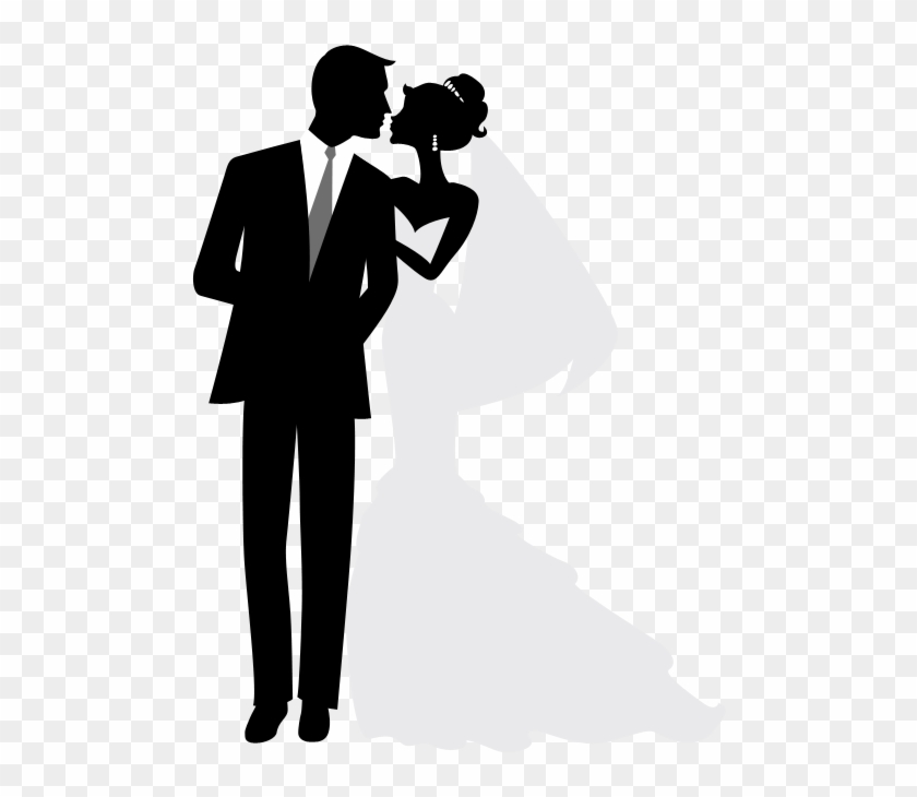 Bride and groom clipart silhouette svg freeuse stock Casamento Lub Pinterest Silhouettes Wedding And Cards - Clipart ... svg freeuse stock