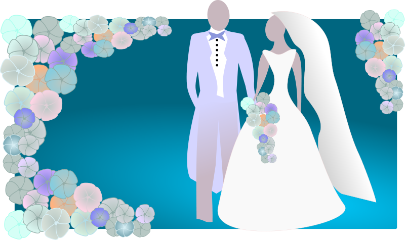Bride and groom coloring book clipart clipart stock 18cute Bridal Shower Clip Art - Clip arts & coloring pages clipart stock