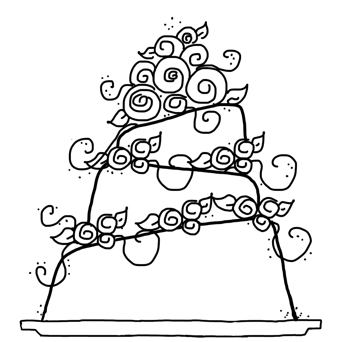 Bride and groom coloring book clipart clip art Wedding Bells Drawing at GetDrawings.com | Free for personal use ... clip art