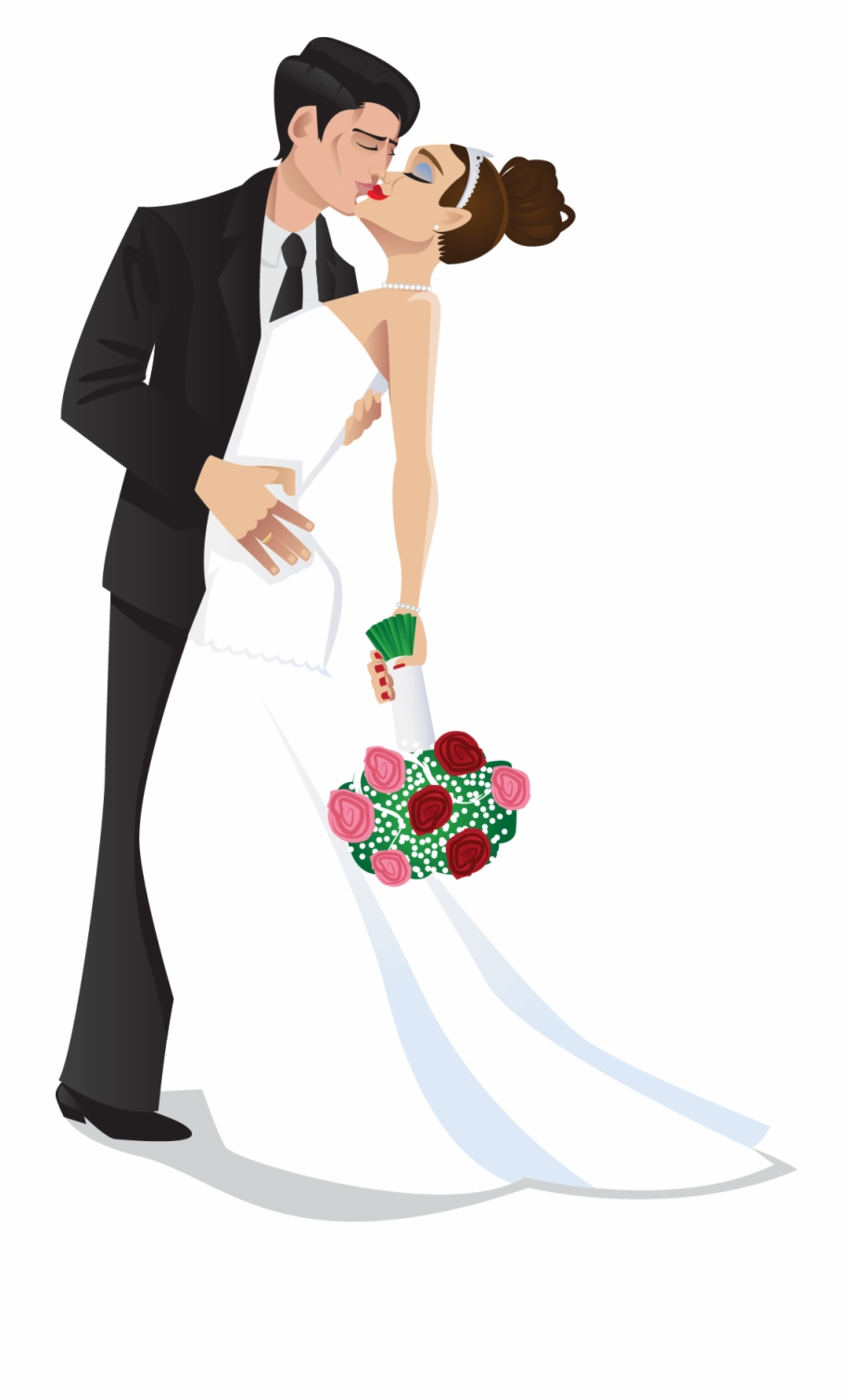 Bride and groom kissing clipart jpg royalty free stock Bride And Groom Kiss Wedding Bride Groom Clipart The - Clipart Bride ... jpg royalty free stock