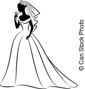 Bride clipart free vector black and white Bride Illustrations and Clip Art. 39,815 Bride royalty free ... vector black and white