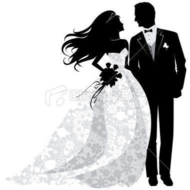 Bride and groom silhouette free clipart clipart transparent 14+ Bride And Groom Silhouette Clip Art | ClipartLook clipart transparent