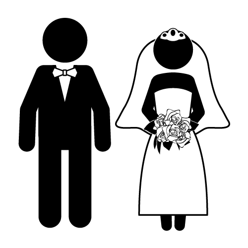 Clipart groom vector free Bride And Groom Funny Clipart - Clipart Kid | wedding | Groom ... vector free
