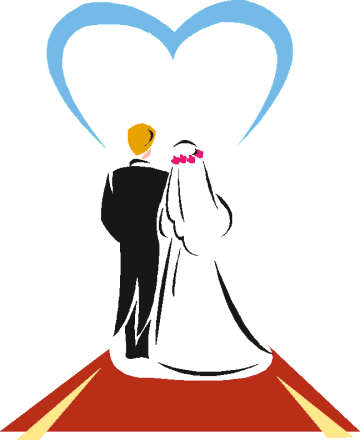 Wedding ceremony clipart clip art library download Pin by CARMEN DUNGAN: ) on JUST MARRIED ♥ in 2019 | Wedding ... clip art library download
