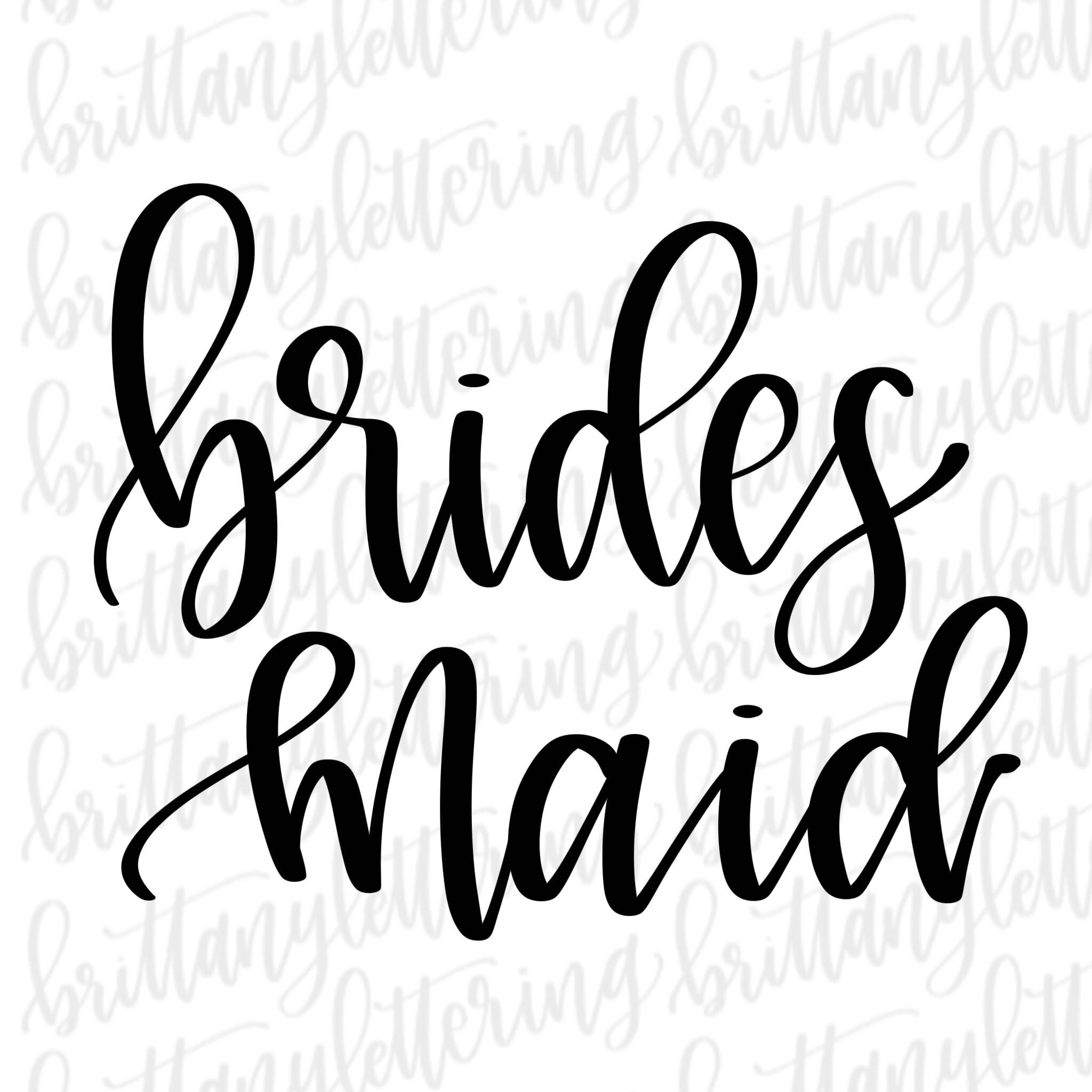 Bridesmaid clipart free image black and white stock Collection of Bridesmaid clipart | Free download best Bridesmaid ... image black and white stock