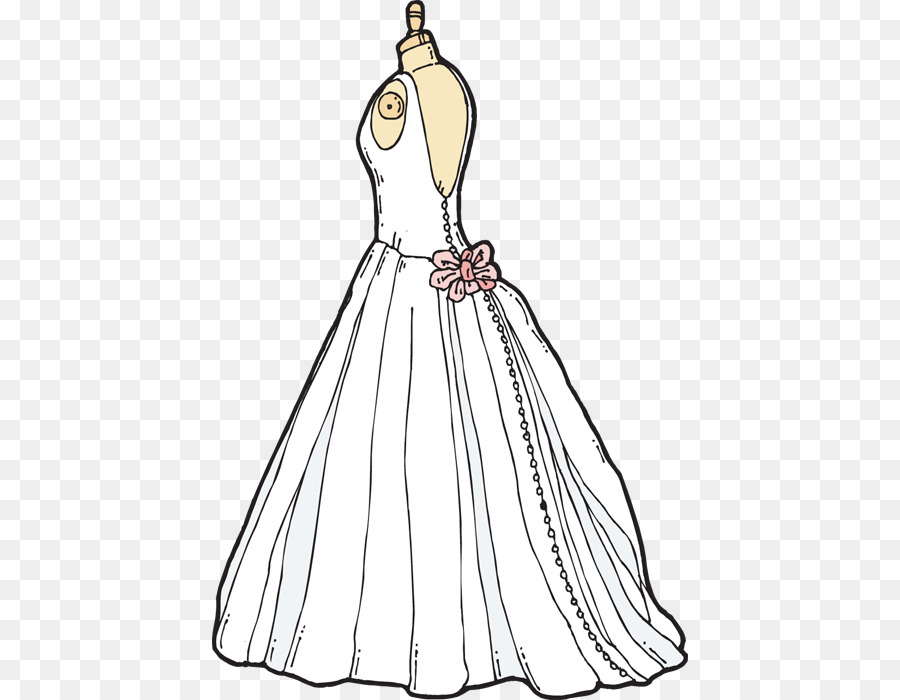 Bridesmaid dress clipart vector Wedding Save The Date png download - 476*700 - Free Transparent ... vector