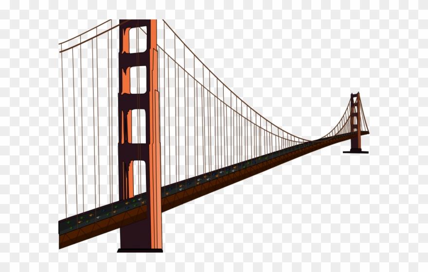 Bridge clipart transparent svg download Bridge Clipart Transparent Background - Golden Gate Bridge ... svg download