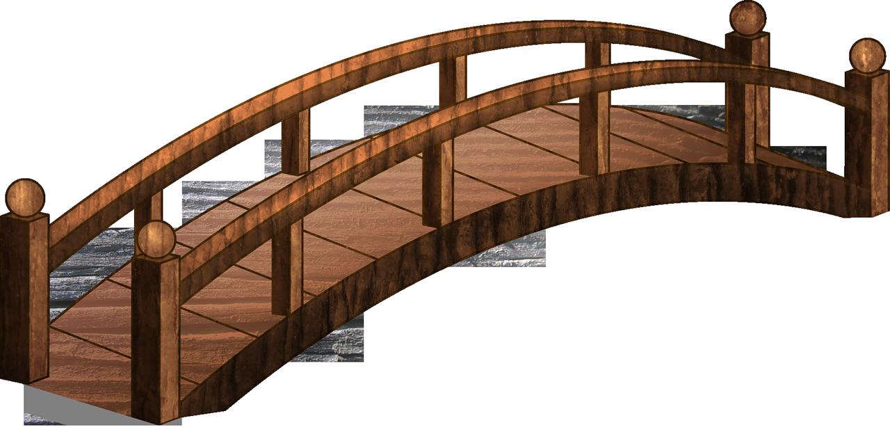 Bridge clipart transparent clip black and white Bridge Photography Clip art - bridge png download - 1280*614 - Free ... clip black and white