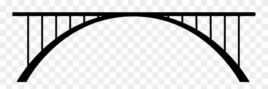 Bridge clipart vector