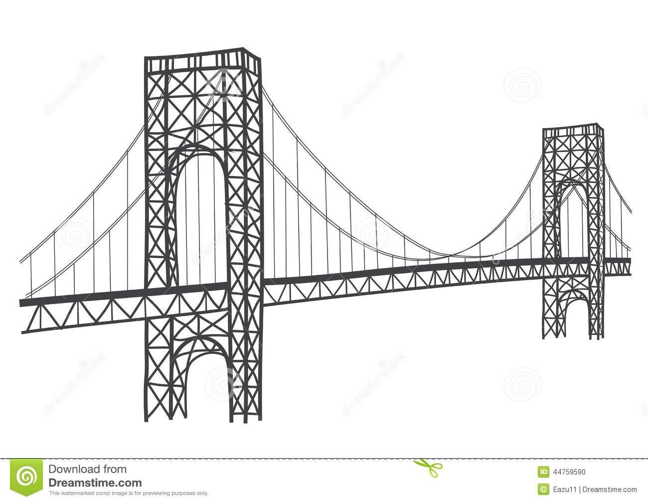 Bridge free clipart svg black and white Bridge Clipart & Look At Clip Art Images - ClipartLook svg black and white