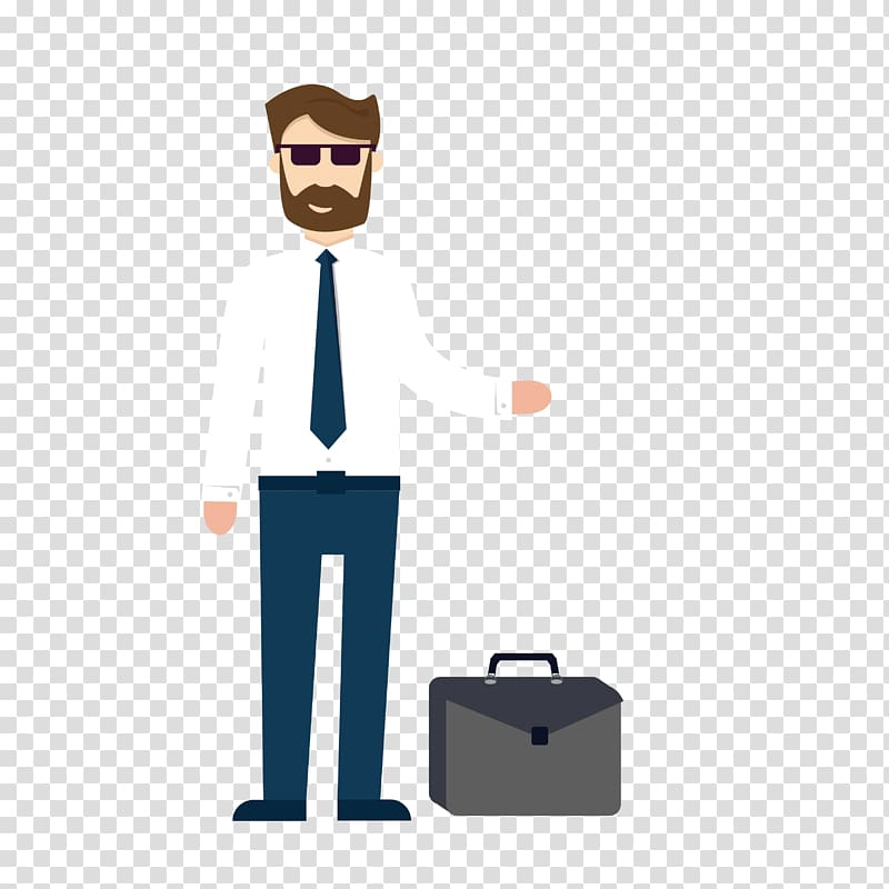 Briefcase for men clipart picture transparent download Technology roadmap, Beards, men and briefcases transparent ... picture transparent download