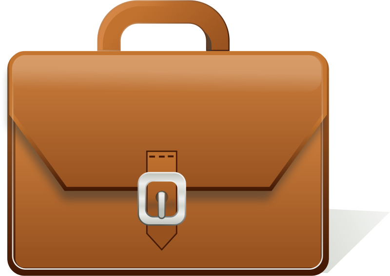 Briefcase full of money clipart jpg black and white download Briefcase Clip art - Brown bag 800*566 transprent Png Free Download ... jpg black and white download