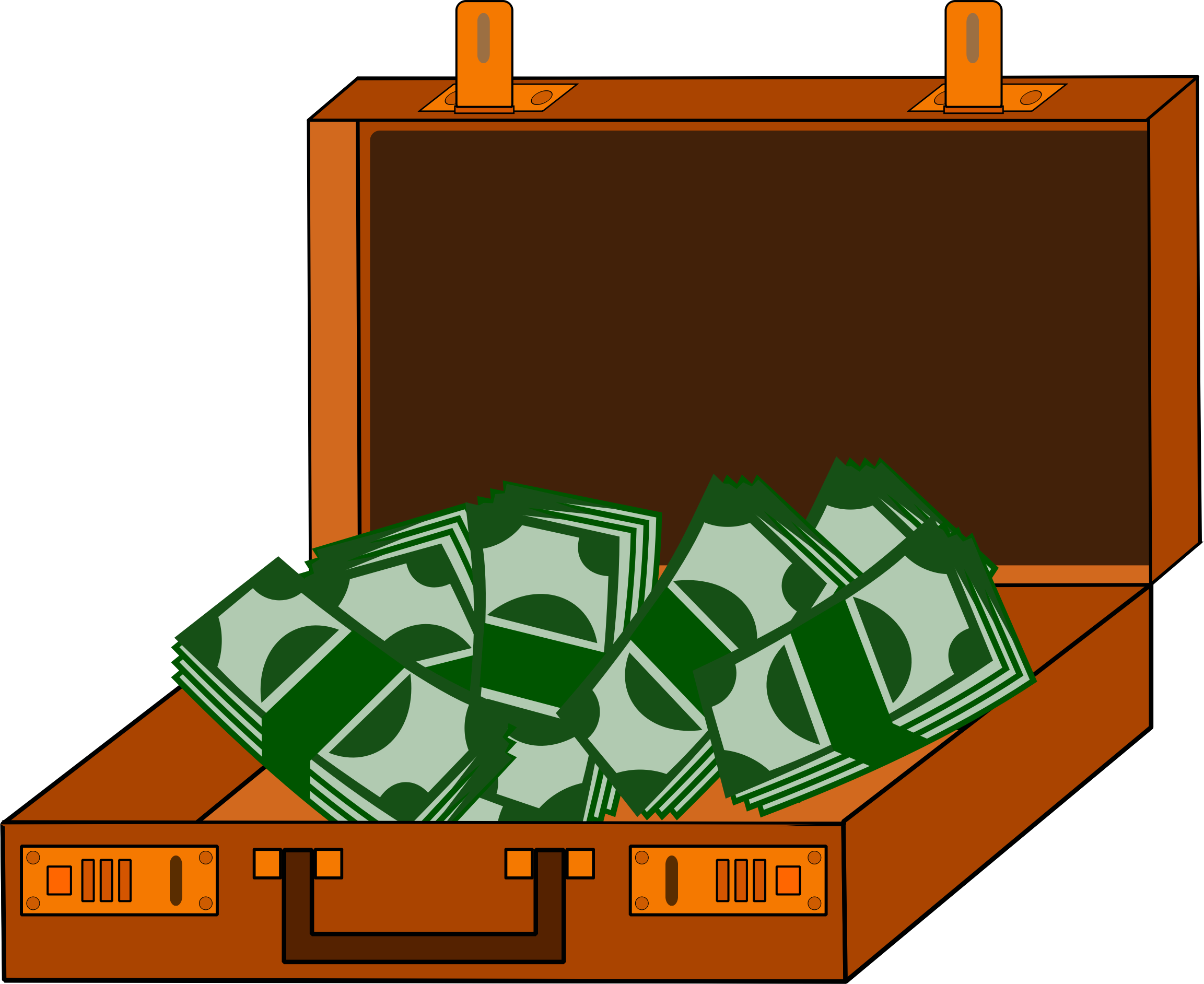 In the money clipart jpg download Clipart - Cash Briefcase jpg download