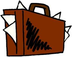 Briefcases clipart graphic library library Briefcases clipart images - ClipartFest   Had One Job   Clip art ... graphic library library