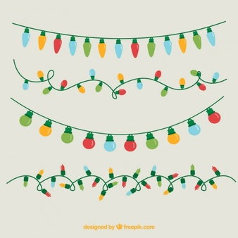 Christmas light realistic clipart clip transparent library String Lights Vectors, Photos and PSD files | Free Download clip transparent library