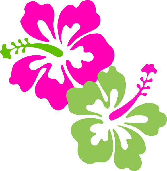 Hawaiian flower clipart border clipart freeuse library Hawaiian Flower Clipart at GetDrawings.com | Free for personal use ... clipart freeuse library