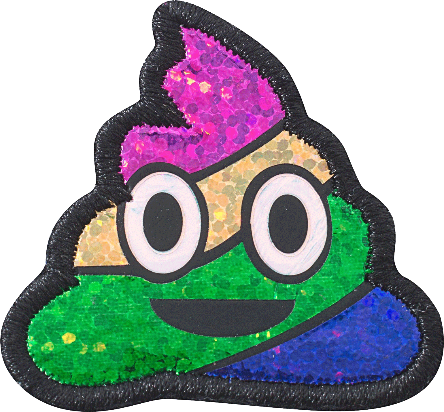 Bright green baseball stitch clipart image stock Puffy Rainbow Poop Patch - Stoney Clover Lane image stock