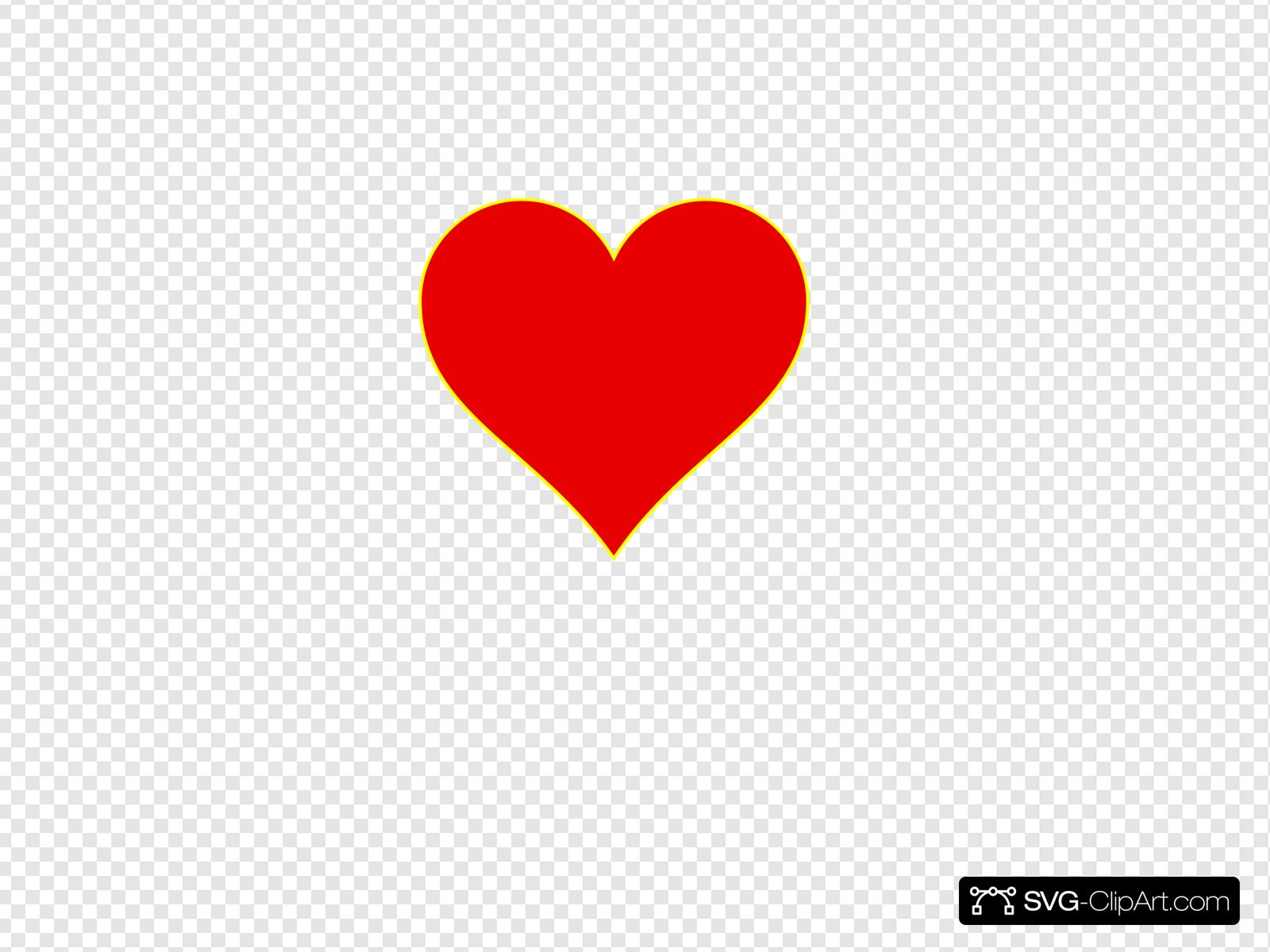 Bright heart clipart clipart free download Bright Heart Clip art, Icon and SVG - SVG Clipart clipart free download