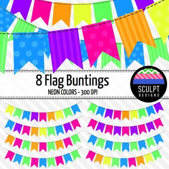 Bright pastel flag bunting clipart vector transparent download Bright pastel flag bunting clipart - ClipartFest vector transparent download