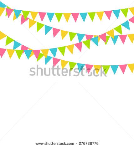 Bright pastel flag bunting clipart jpg transparent stock Bright pastel flag bunting clipart - ClipartFest jpg transparent stock