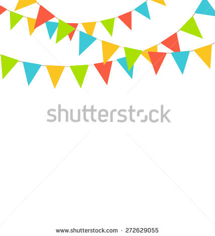Bright pastel flag bunting clipart vector library library Bunting Stock Images, Royalty-Free Images & Vectors | Shutterstock vector library library