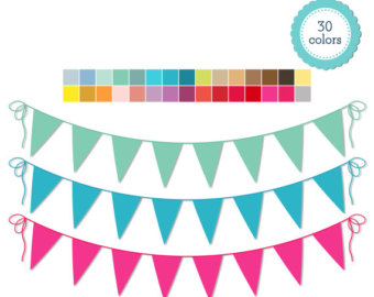 Bright pastel flag bunting clipart clip freeuse library Bright pastel flag clipart - ClipartFox clip freeuse library