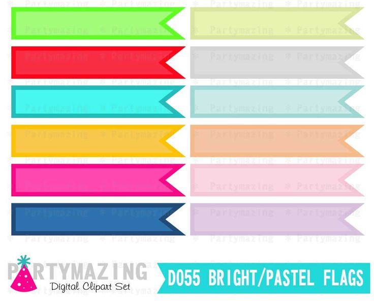 Bright pastel flag clipart svg download New from Partymazing on Etsy: Clipart Flags Bright and Pastel ... svg download