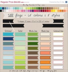 Bright pastel flag clipart picture royalty free library 1200 digital borders clipart lace trim clipart heart garland ... picture royalty free library