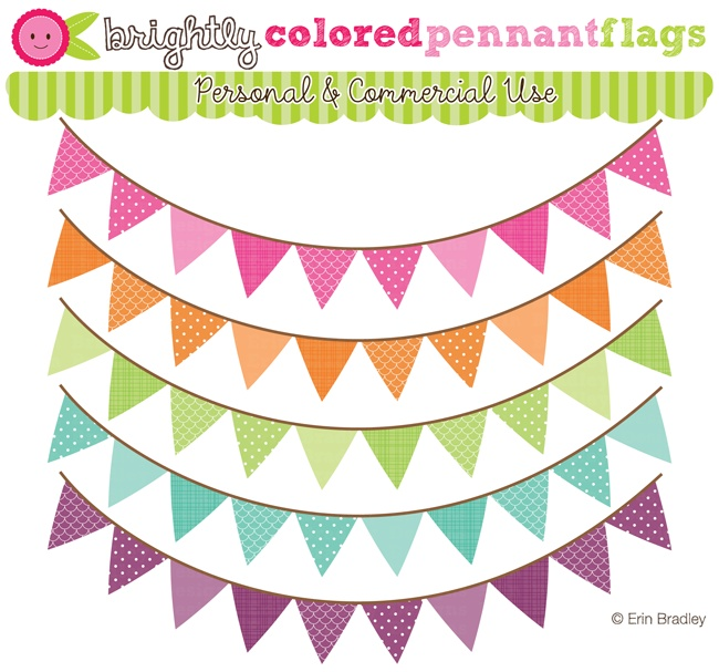 Bright pastel flag clipart picture freeuse library Free straight banner flag clipart - ClipartFest picture freeuse library