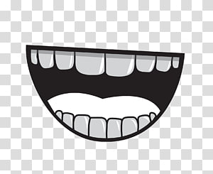 Bright smile clipart svg black and white stock Lips, Bright Smile Teeth transparent background PNG clipart   HiClipart svg black and white stock