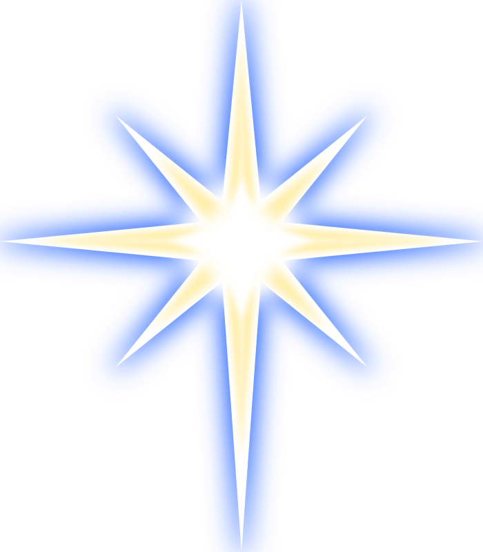 Free clipart of christmas star clipart Free star images to use in your design ⋆ Free Stock Images clipart