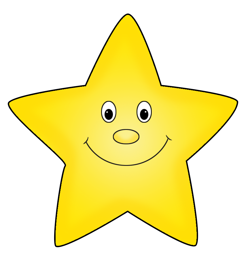Smiley face star clipart picture transparent stock Star Clipart picture transparent stock