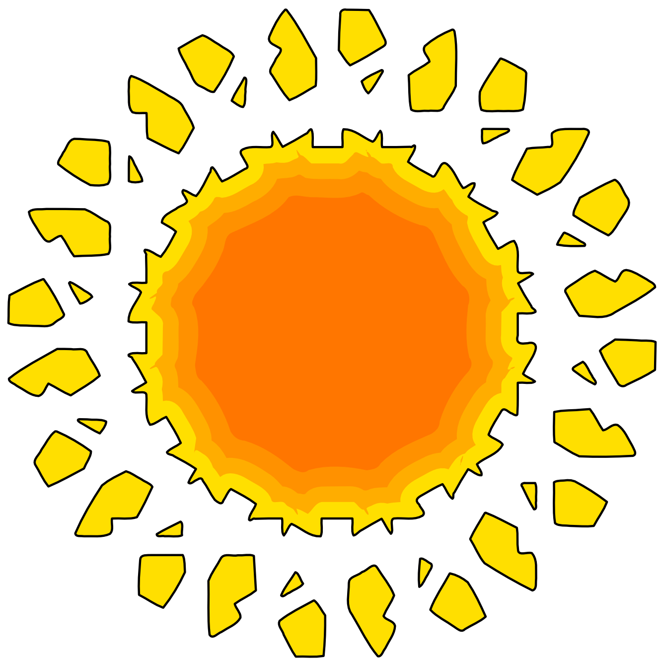 The sun shining clipart png image download Sunbeam Clipart at GetDrawings.com | Free for personal use Sunbeam ... image download