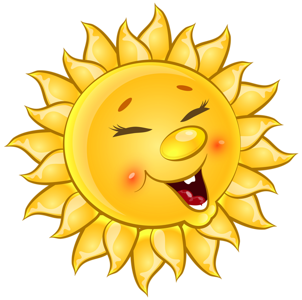 Sun emoji clipart graphic transparent library Good Morning! (no words -