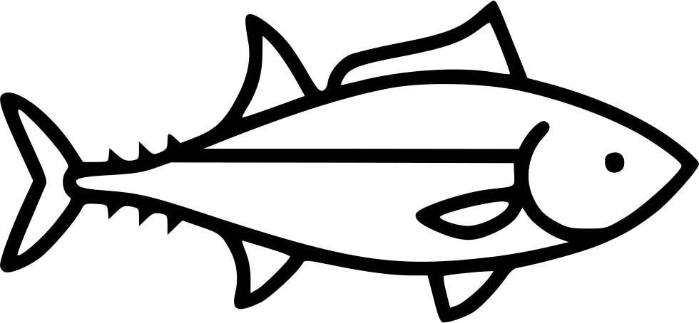 Brim fish black and white clipart clip freeuse stock Tuna Svg Png Icon Free Download (#438649) - OnlineWebFonts.COM clip freeuse stock