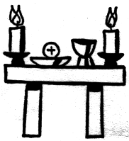 Bringing can goods to the altar clipart transparent library Altar Cliparts - Cliparts Zone transparent library