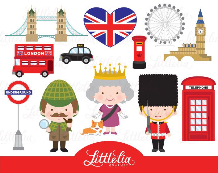 Britigh clipart image free London clipart - British London clipart - British clipart - 15078 ... image free