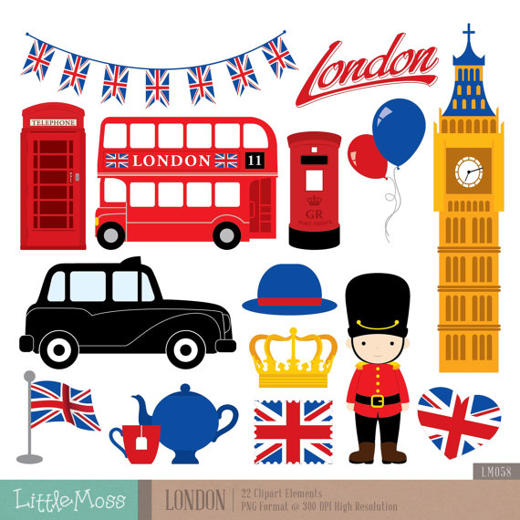Britigh clipart png freeuse stock London Clipart, British Clipart, England Clipart | London theme ... png freeuse stock