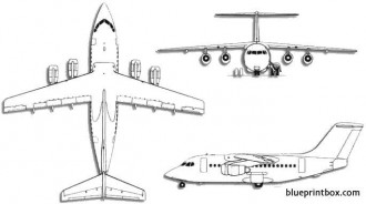 British aerospace clipart clip art royalty free stock 3 Views of Airplanes for Model Airplane BuildingAeroFred - Free ... clip art royalty free stock
