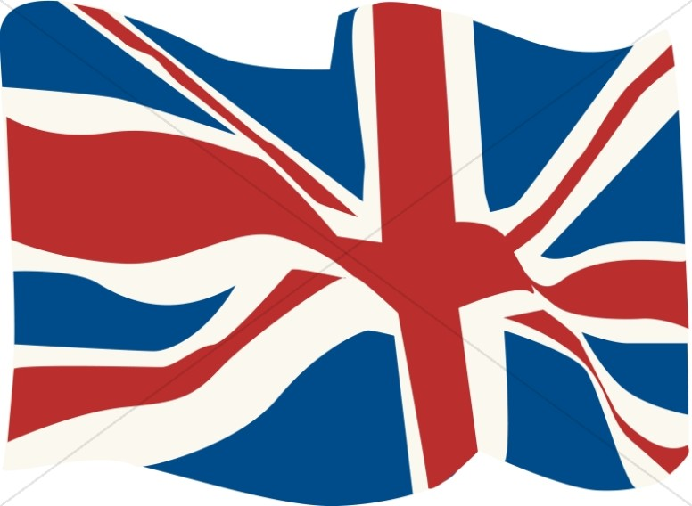 Uk clipart free png freeuse download British Flag in the WInd | Veteran\'s Day Clipart png freeuse download