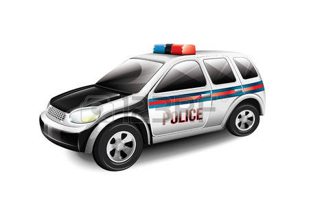 British police car clipart.  cliparts stock vector
