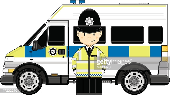 British police car clipart clip Female British Police Officer Van Vector Art | Getty Images clip