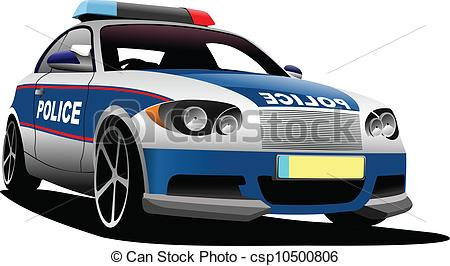 British police car clipart. Patrol clip art and